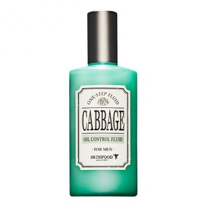 Мужской флюид для жирной кожи с экстрактом капусты One-Step Fluid Cabbage Oil Control Fluid, 125