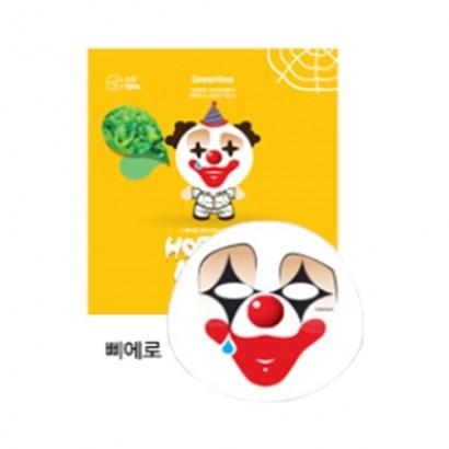 Маска для лица тканевая Клоун  Horror Mask Series Pierrot, 25