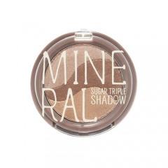 Минеральные тени для глаз Mineral Sugar Triple Shadow #2 Baking Brown