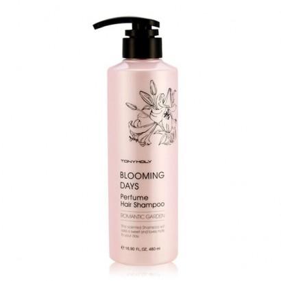 Tony Moly Парфюмированный шампунь (Романтический сад) Blooming Days Perfume Hair Shampoo (Romantic Garden), 480