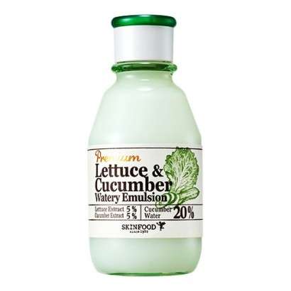 Увлажняющая эмульсия с экстрактом огурца и салата латука Premium Lettecure Cucumber Watery Emulsion, 140