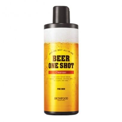 Очищающее средство с экстрактом пива Beer One Shot Cleanser for Men, 400