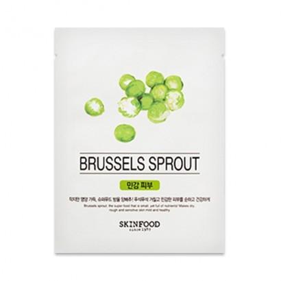 Тканевая маска с брюссельской капустой Beauty In A Food Mask Sheet Brussels Sprout, 18