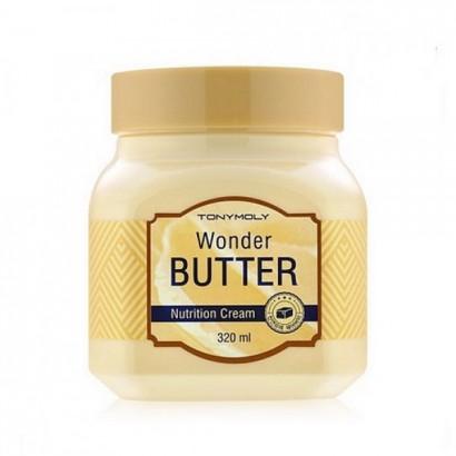 Tony Moly Крем универсальный питательный с маслом ши Wonder Butter Nutrition Cream, 320