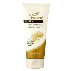 Natuer Be Rice Mild Foam Cleanser / Пенка для умывания с экстрактом риса