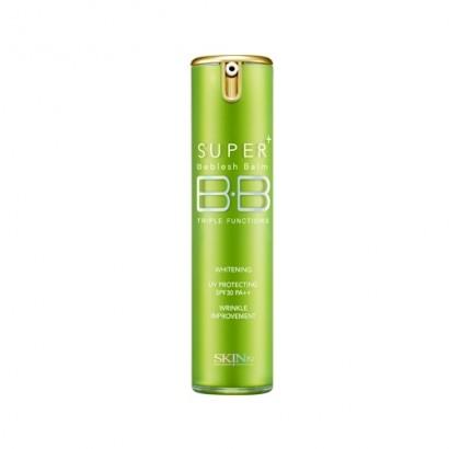 Super Plus Beblesh Balm Triple Functions Green SPF30 PA++ / ББ крем для кожи с расширенными порами, дозатор, 15 гр