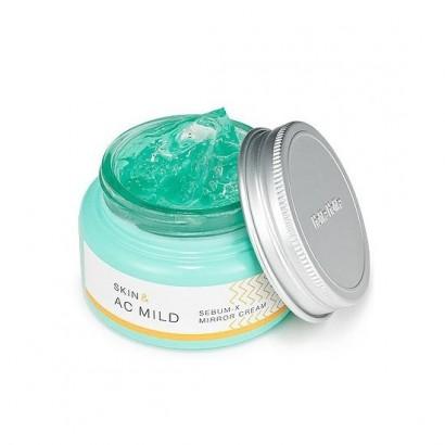 Крем-гель для жирной и проблемной кожи  Skin & AC Mild Sebum-X Mirror Cream, 60