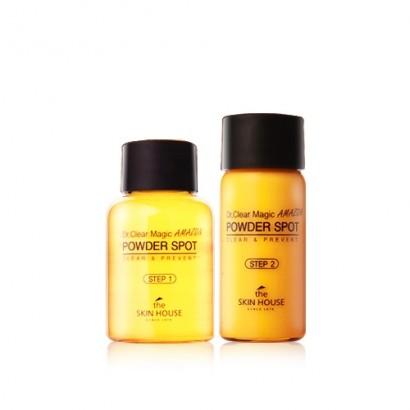 Dr. Clear Magic Powder Spot Amazon / Двойное средство от воспалений, 15мл/10мл