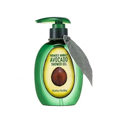 Гель для душа с экстрактом авокадо Farmer's Market Avocado Shower Gel, 240