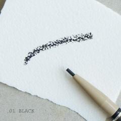 Карандаш для бровей Black Bean Eyebrow Pencil #1 Black