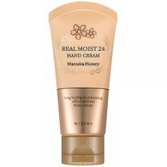 Увлажняющий крем для рук Real Moist 24 Hand Cream #Manuka Honey