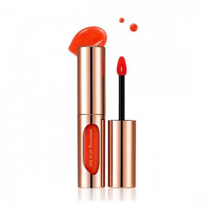 Тинт для губ увлажняющий с натуральными маслами / Voluming Oil to Tint №02, 4.5
