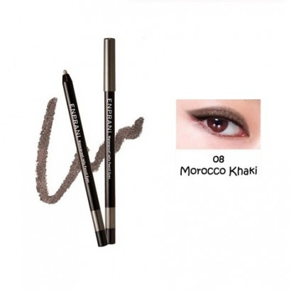 Waterproof Jelly Pencil Eyes 08 / Карандаш-подводка, оттенок 08 - марокканский хаки, Сияющий водостойкий, 1,7г