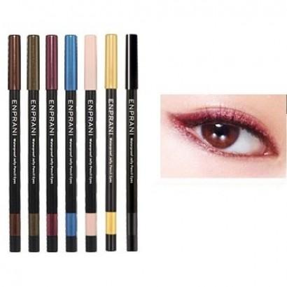 Waterproof Jelly Pencil Eyes 03 / Карандаш-подводка, оттенок бордовый, Сияющий водостойкий, 1,7г