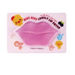 Tony Moly Гидрогелевая маска для губ Kiss Kiss Lovely Lip Patch