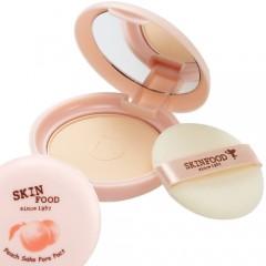 Компактная прозрачная пудра с экстрактом персика Peach Sake Pore Pact