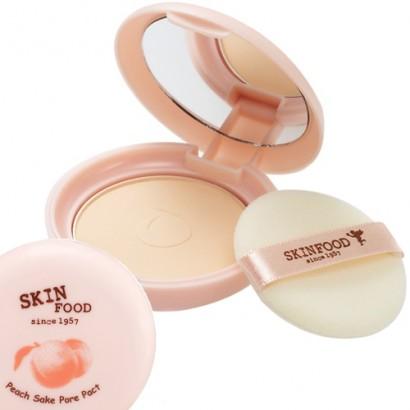 Компактная прозрачная пудра с экстрактом персика Peach Sake Pore Pact, 20