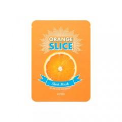 Осветляющие локальные маски - апельсин Оrange Slice Sheet Mask