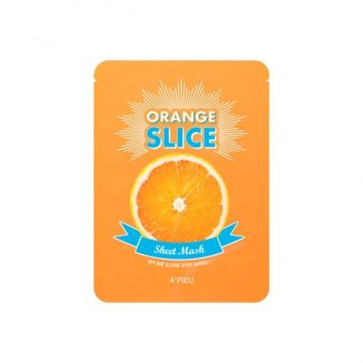 Осветляющие локальные маски - апельсин Оrange Slice Sheet Mask, 12