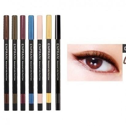 Waterproof Jelly Pencil Eyes 01 / Карандаш-подводка, оттенок кофейный, Сияющий водостойкий, 1,7г