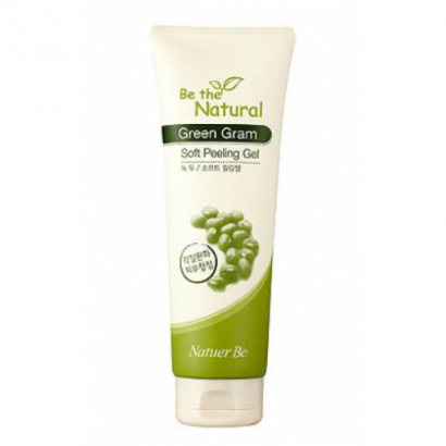 Пилинг-скатка для лица / Be The Natural Green Gram Peeling Soft Gel, 6120