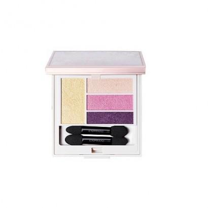 Delicate Luminous Blooming Shadow 01 Pink Flora / Палетка теней для век, оттенок розовая флора, 5г