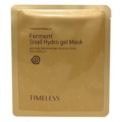 Tony Moly Гидрогелевая улиточная ферментиованая маска Timeless Ferment Snail Gel Mask, 25