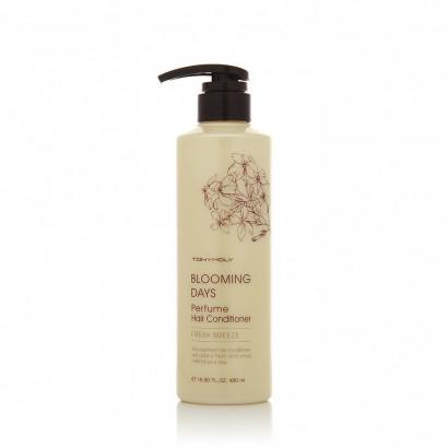 Tony Moly Парфюмированный кондиционер для волос (02 – Свежий Бриз) Blooming Days Perfume Hair Conditioner (02 - Fresh Breeze ), 480