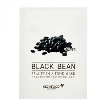 Тканевая маска с экатрактом черных соевых бобов Beauty in a Food Mask Sheet Black Bean, 20