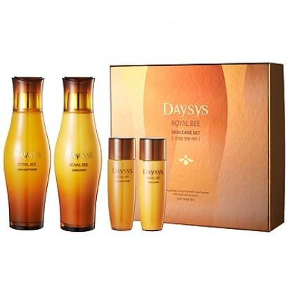 Daysys Basic Skin Care set / Набор софтнер и эмульсия с медом и прополюсом, 200 мл,32 мл,200 мл,32мл.