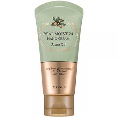 Увлажняющий крем для рук Real Moist 24 Hand Cream Argan Oil