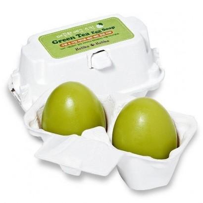 Мыло-маска с зеленым чаем Green Tea Egg Soap(50G*2), 100
