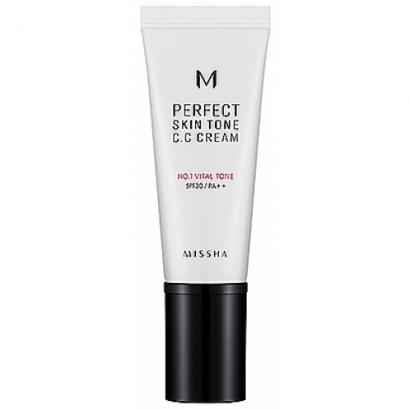 CC крем для безупречно ровного тона кожи  M Perfect Skin Tone C.C Cream №1-Vital tone, 40