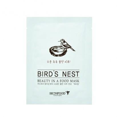 Маска для лица с экстрактом ласточкиного гнезда Beauty In A Food Mask Sheet Bird`s Nest, 18