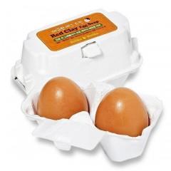 Мыло-маска для умывания Red Clay Egg Soap(50G*2)