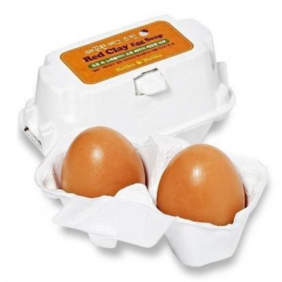 Мыло-маска для умывания Red Clay Egg Soap(50G*2), 100