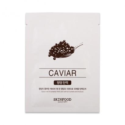 Тканевая маска с черной икрой Beauty In A Food Mask Sheet Caviar, 18