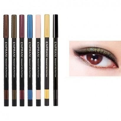 Waterproof Jelly Pencil Eyes 02 / Карандаш-подводка, оттенок саванна хаки, Сияющий водостойкий, 1,7г