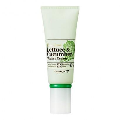 Увлажняющий крем-гель с экстрактом огурца и салата латука Premium Lettecure Cucumber Watery Cream, 50
