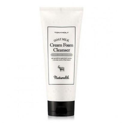 Tony Moly Пенка увлажняющая на основе козьего молока/ Naturalth Goat Milk Cream Foam Cleanser, 200