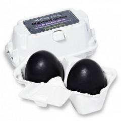 Мыло-маска для лица с углем Charcoal Egg Soap (50G*2)