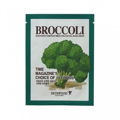 Тканевая маска с экстрактом брокколи Everyday Brocolli Mask Sheet, 21