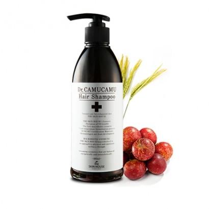 Dr. Camucamu Hair Shampoo / Шампунь с  экстрактом рисовых отрубей, 400мл