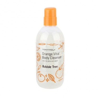 Tony Moly Гель для душа цитрусовый Bubble Tree Orange Vital Body Cleanser, 300