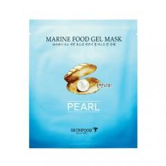 Гидрогелевая маска с экстрактом жемчуга Marine Food Gel Mask Pearl