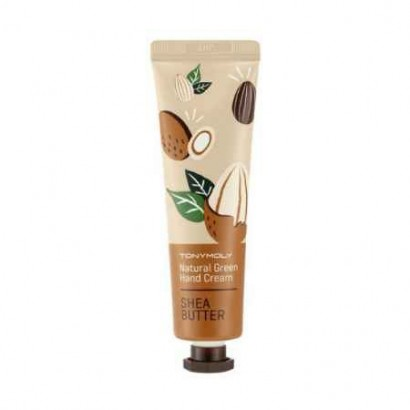 Tony Moly Крем для рук с маслом Ши Natural Green Hand Cream Shea Butter, 30