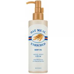 Масло с экстрактом овсянки для питания кожи Oat Meal Enriched Body Oil