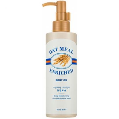 Масло с экстрактом овсянки для питания кожи Oat Meal Enriched Body Oil, 100