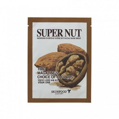 Тканевая маска с экстрактами орехов Everyday Super Nut Mask Sheet, 22