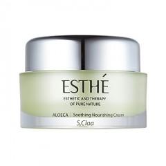 S,Claa Esthe Aloeca Soothing Nourishing Cream / Увлажняющий и питательный крем с экстрактом алоэ
